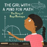 cover of ThE GIRL WITH A MIND FOR MATH by Julia Finley Mosca